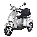 Krafthertz® Seniorenmobil Papamobil - Elektro Dreirad für Senioren mit 800 Watt, max. 20 km/h,...