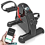 Sportstech Mini-Heimtrainer, Mini-Bike + Fitness-App| Beintrainer + Armtrainer für Senioren |...