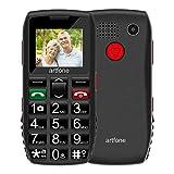 Seniorenhandy, Artfone Mobiltelefon Senioren-Handy Großtastenhandy ohne Vertrag mit großen Tasten...