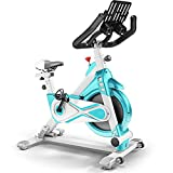 MARXIAO Gewerbe Stationery Bike Riementrieb Indoor Cycling Bike Indoor Heimtrainer 120Kg Max...