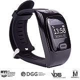 tellimed Solino - GPS Notruf Uhr Smartwatch mit 14+ Funktionen - Zuverlässige & einfache Bedienung...