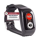 tellimed Carino - Notrufarmband für Senioren, Erwachsene & Kinder - Notruf Armband mit einfacher...
