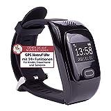 tellimed Solino - GPS Senioren Notruf Uhr - Zuverlässige & einfache Bedienung für maximale...
