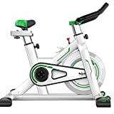 MARXIAO Indoor Cycling Bike, Justierbare Heimtrainer Mit LCD-Display, Komfortabler Sitzkissen &...