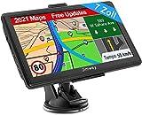 Navigation für Auto LKW Navi 7 Zoll Navigationsgerät Testsieger 2021 Navigationssystem PKW...