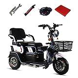 Aegilmc Elektromobil Elektroroller 3-Rad, Elektro Dreirad Für Senioren Seniorenmobil...