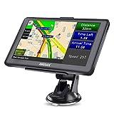 AWESAFE GPS Navi Navigation für Auto LKW PKW KFZ Navigationsgerät 7 Zoll Lebenslang Kostenloses...
