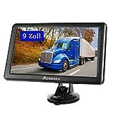 GPS Navi Navigation für Auto LKW PKW Aonerex 9 Zoll Touchscreen Navigationsgerät 8G 256M...