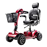 Elektromobil Senioren Seniorenmobil Seniorenfahrzeug,älterer Wagen Faltbarer Elektrischer Rollstuhl...