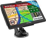 Navigation für Auto LKW Navi 7 Zoll Navigationsgerät Testsieger 2020 Navigationssystem PKW 16GB...