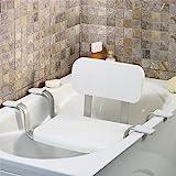 TW24 Wannensitz - Duschstuhl - Badewannenstuhl - Duschhocker mit Rückenlehne - Badsitze mit...