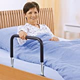 Bettgriff, Aufstehhilfe EIN- & Ausstiegshilfe Bettaufrichter Bettaufstehhilfe, Stahl &...