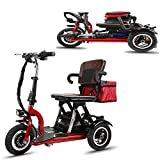 Smx Green Power Elektro-Dreirad-Roller, Faltbare beweglich Erwachsene Behinderte älteres Scooter...