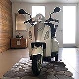 VELECO Elektro Dreirad für Senioren Elektroroller Seniorenmobil ZT15 Weiß