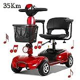 E Scooter Senioren Falbar,e Rollstuhl Faltbar Leicht Elektrofahrzeug Quad,elektroroller Für...