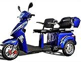 ECO Engel 503 Blau Elektromobil mit Li-Io Akku, 1000 Watt, 25 km/h, Senioren-Scooter mit...