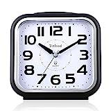 5.5 Zoll Leise Analog Wecker ohne Ticking, sanftes Aufwecken, Pieptöne, Lautstärke erhöhen,...