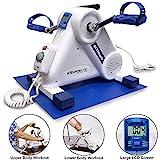 Exerpeutic ActivCycle Mini Heimtrainer, Beintrainer, Armtrainer mit Elektromotor, einstellbare...