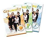 Gesund Fit ins Alter - 3 x DVD - Das komplette Senioren-Trainingsprogramm für 'Herzkreislauf' /...