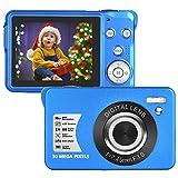 LongOu Digitalkamera 1080P Full HD 30 Megapixel Fotoapparat Digitalkamera 2,7-Zoll-LCD Kompaktkamera...