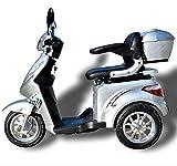 Elektromobil ECO Engel 501 (Silber), 25 km/h, 1000 Watt, E-Scooter E-Roller Senioren-Scooter mit...