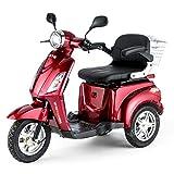 VELECO Dreirad ElektroRoller E-Scooter Elektromobil 25 km/h 900W 3 Rad Seniorenfahrzeug...