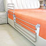 Bett Haltegriff, Sicherheit Edelstahl-Bettgitter, Stabilität Hilfe, for Senioren, Behinderte,...