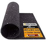 Hinrichs Antivibrationsmatte für Waschmaschinen - 60 x 60 cm Antirutschmatte Waschmaschine -...