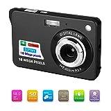 Bosszi Digitalkamera für Kinder, Kompakte Digitale Videokamera 18 Megapixel Wiederaufladbare Kamera...