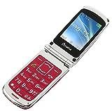 OLYMPIA Modell Style Plus Komfort-Mobiltelefon mit Großtasten und Farb-LC-Display rot