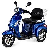 VELECO ZT15 Seniorenmobil Roller Dreirad Elektromobil Seniorenfahrzeug 900W (Blau)